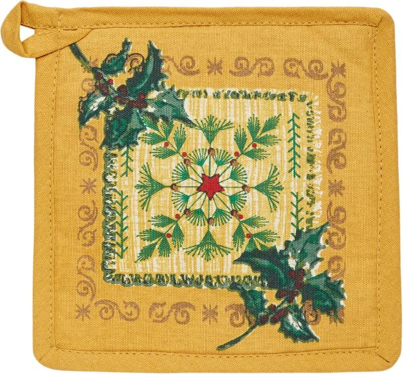 FABNEST Yellow Cotton Kitchen Linen Set(Pack of 1)