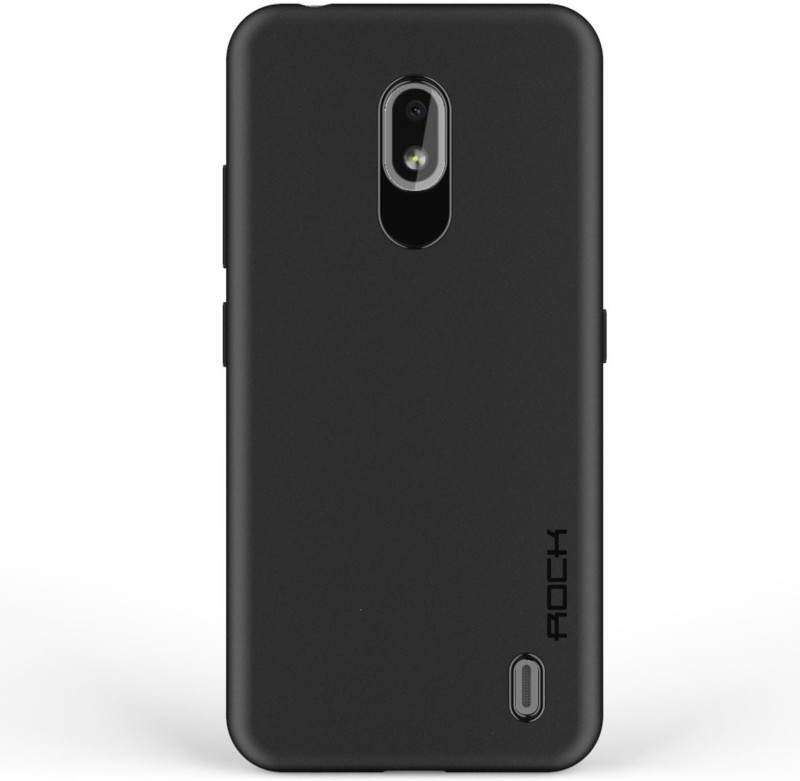 AJJUBA Back Cover for Nokia 2.2(Black, Shock Proof, Silicon)