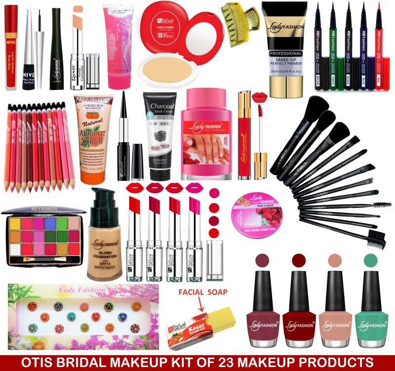 Otis Women's Makeup Vanity Kit of All the Beauty Products(Set of 23)