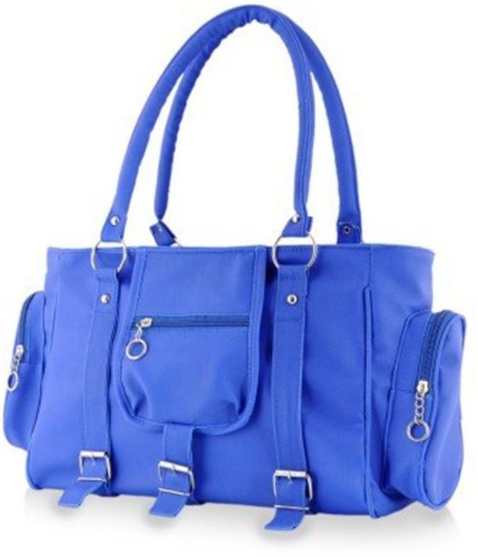 Parrk Women Blue Hand-held Bag