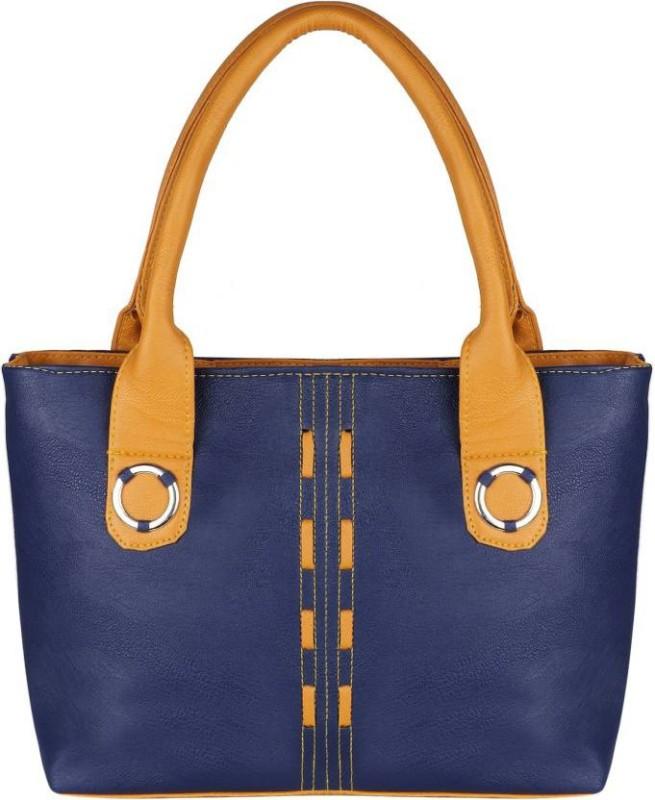 Parrk Women Blue, Brown Hand-held Bag