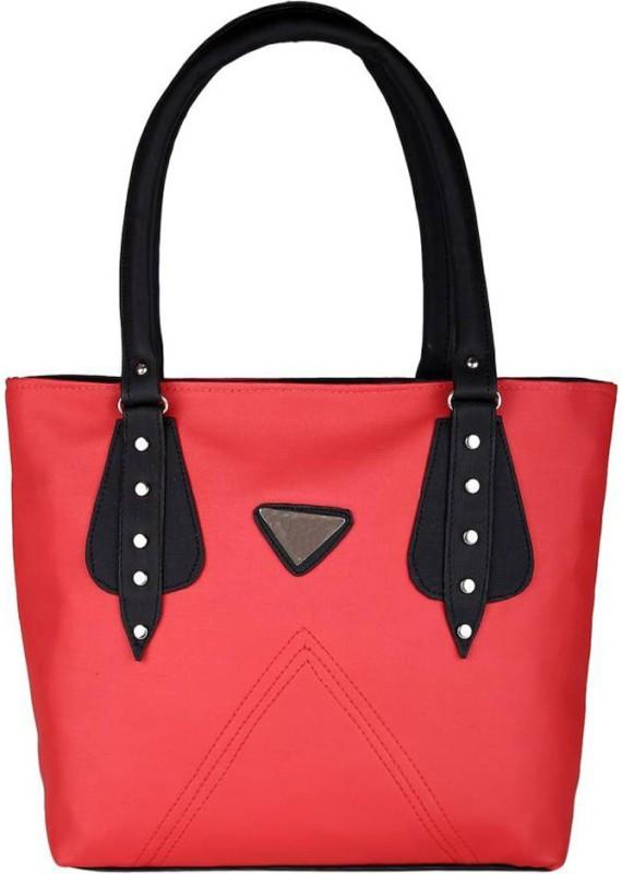Parrk Women Pink, Black Hand-held Bag