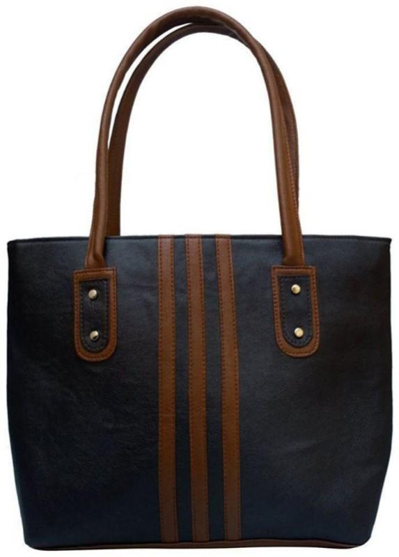 Parrk Women Black, Brown Hand-held Bag