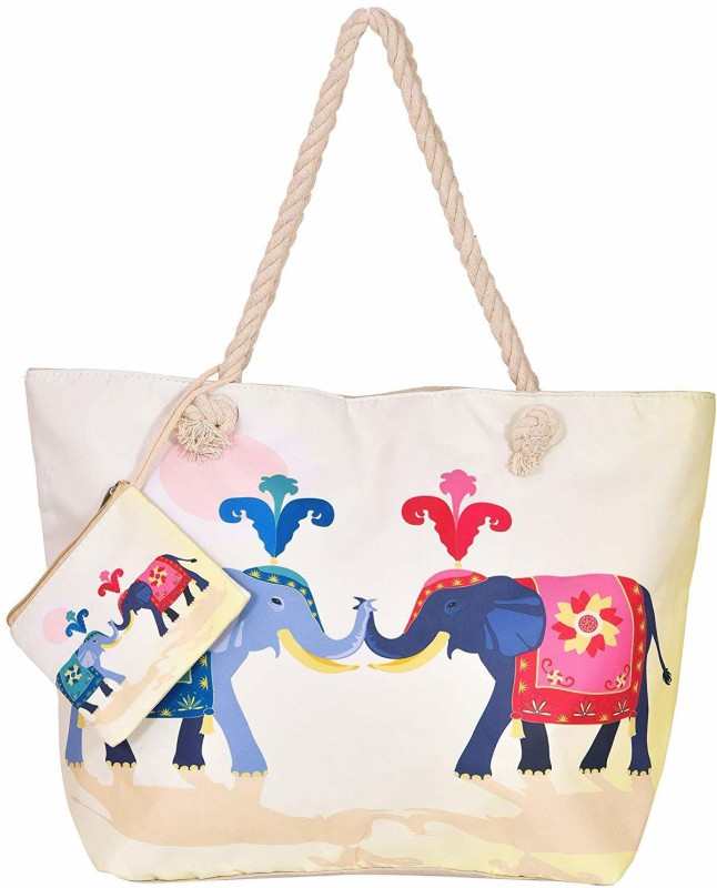 Craft Trade Women White Shoulder Bag
