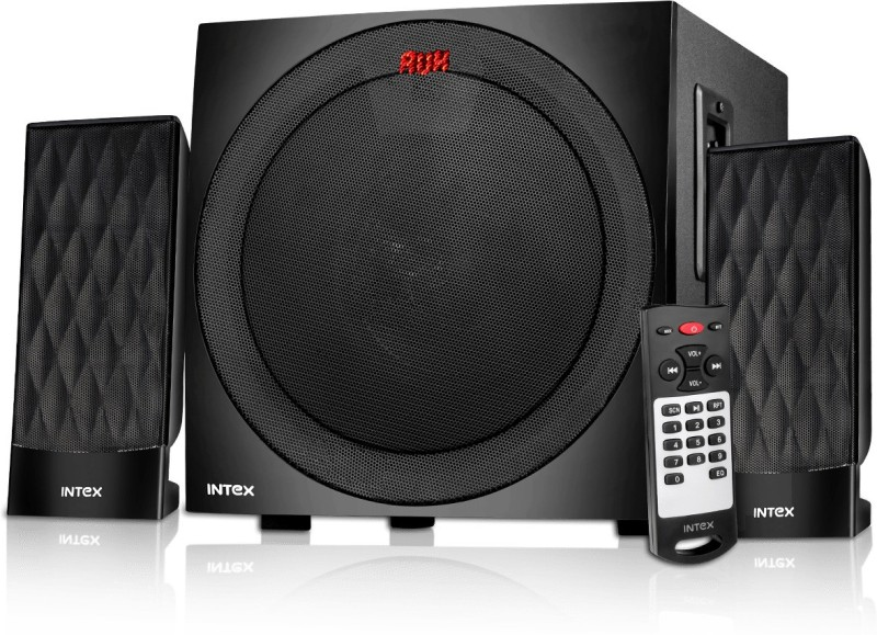 Intex 2.1 XV 2800 FMUB 49 W Bluetooth Home Theatre(Black, 2.1 Channel)