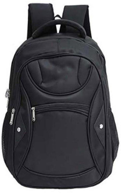 DEFENNA Large capacity men's backpack 2.6 L Backpack(Black)