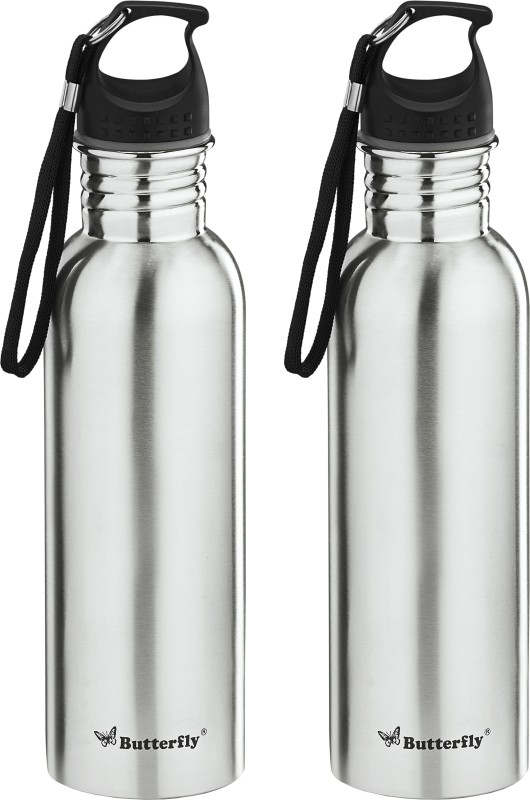 Butterfly Eco SS 750 ml Bottle(Pack of 2, Silver)