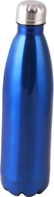 S S IMPEX 18/8 stainless steel 750 ml Bottle(Pack of 1, Blue)
