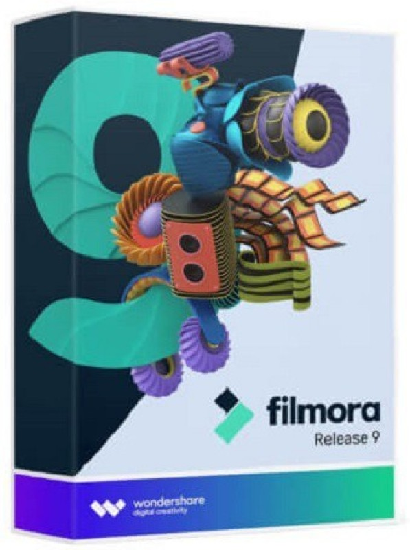 Wondershare Filmora | Video Editor | Lifetime License with updates |(Email Delivery - No CD ) 9(1)