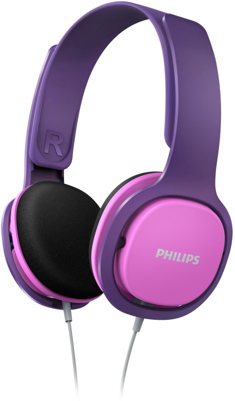 Philips SHK2000PK Wired Headphone(Pink, On the Ear)