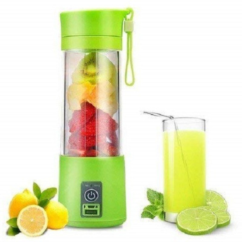 RDPLUS 01-1 Portable USB Juicer Bottle Blender (Multicolour) 220 Juicer Mixer Grinder(Multicolor, 1 Jar)