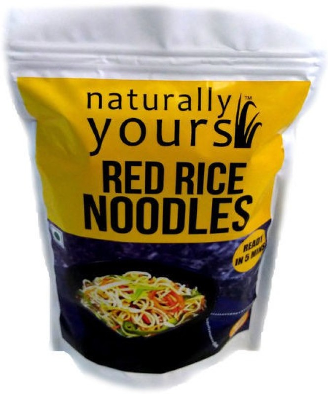 Naturally Yours Red Rice Noodles 180g Instant Noodles Vegetarian(180 g)