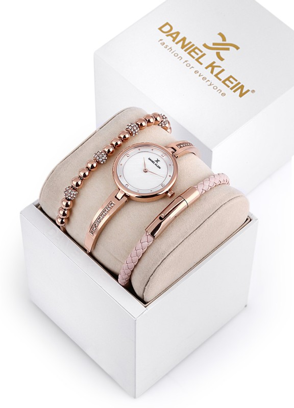 Daniel Klein DK12099-2 LADY GIFT SET Analog Watch - For Women