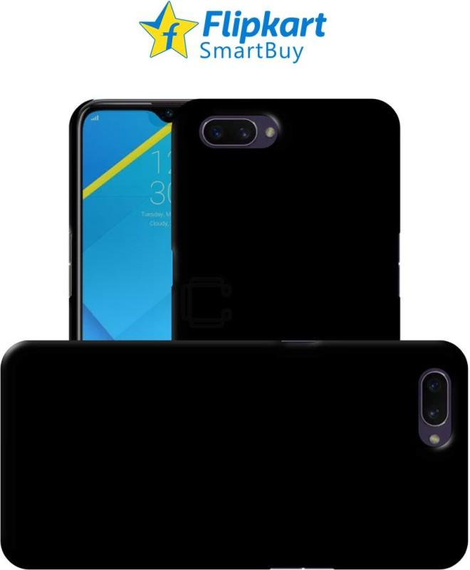 Flipkart SmartBuy Back Cover for Realme C2(Black, Grip Case)