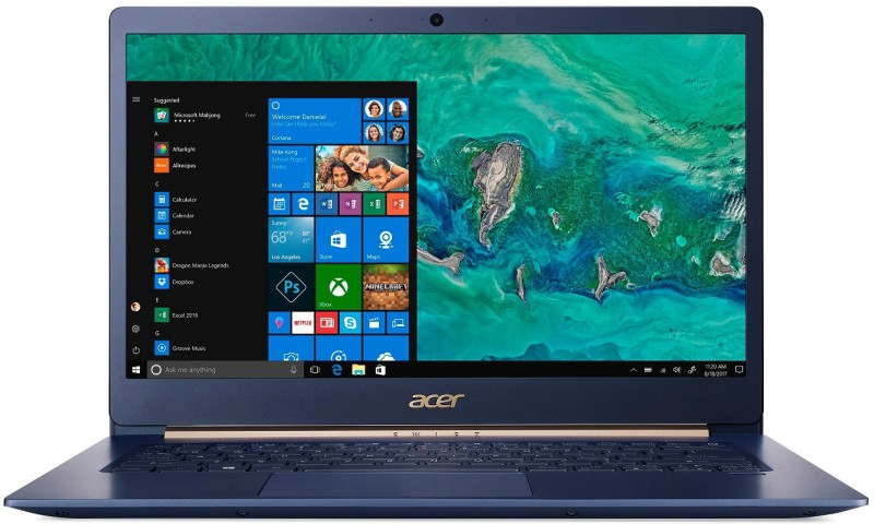 Acer Swift 5 Core i5 8th Gen - (8 GB/512 GB SSD/Windows 10 Home) SF514-52T -59JY Thin and Light Laptop(14 inch, Charcoal Blue, 0.97 kg)