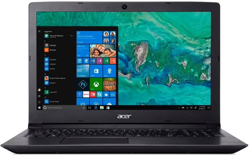Acer Aspire 3 Ryzen 5 Quad Core - (4 GB/1 TB HDD/Windows 10 Home) A315-41 Laptop(15.6 inch, Obsidian Black, 2.3 kg)