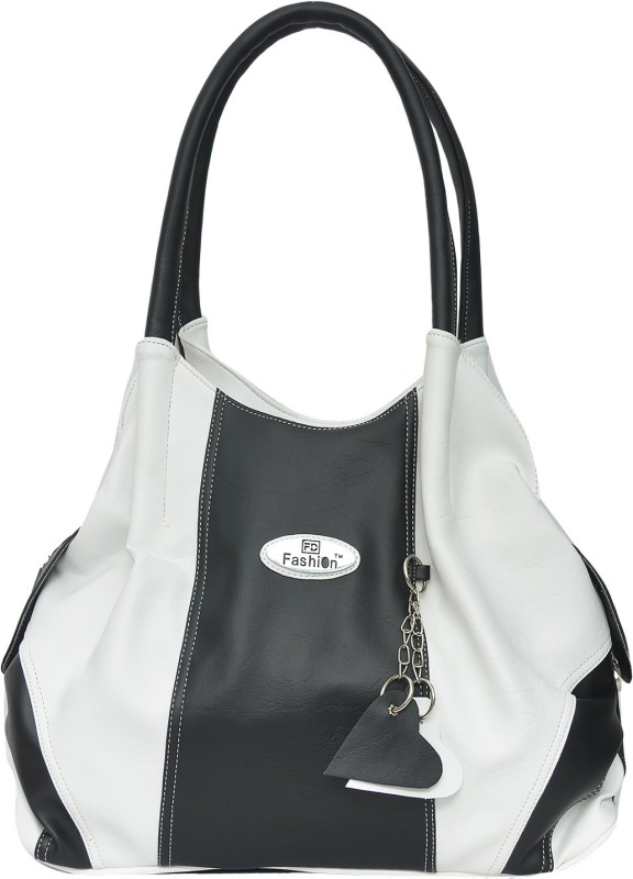 FD Fashion Women Women White, Black Shoulder Bag