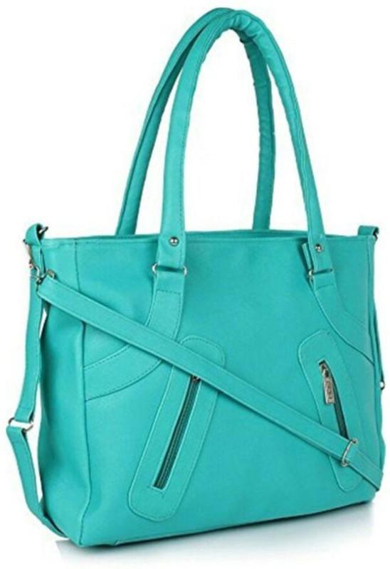 Parrk Women Green Hand-held Bag