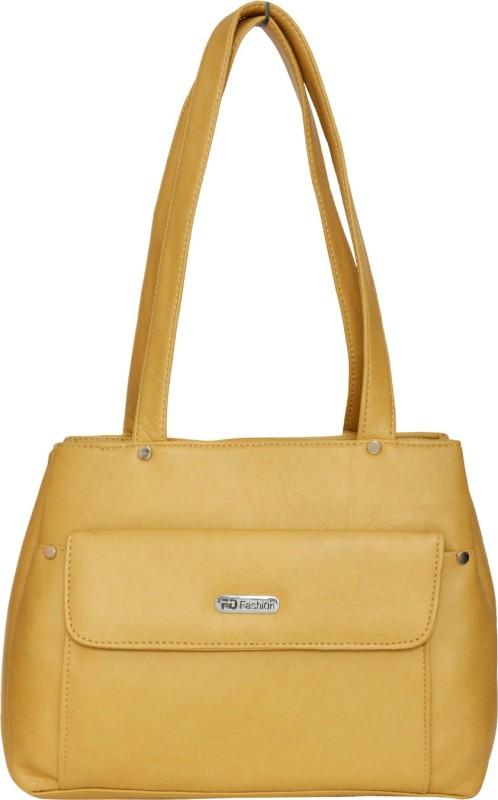 FD Fashion Women Women Beige Shoulder Bag