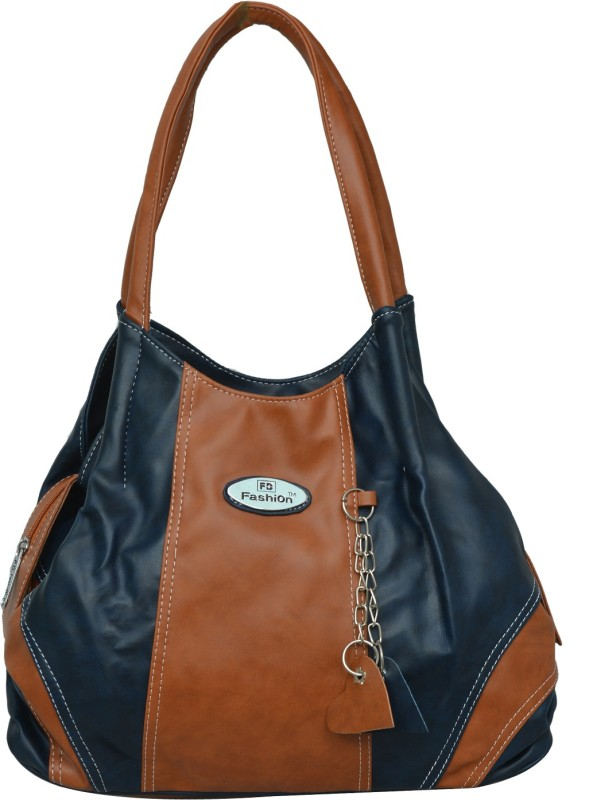 FD Fashion Women Women Tan, Blue Shoulder Bag