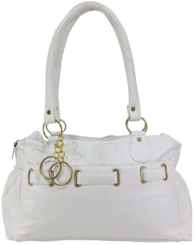 Parrk Women White Hand-held Bag
