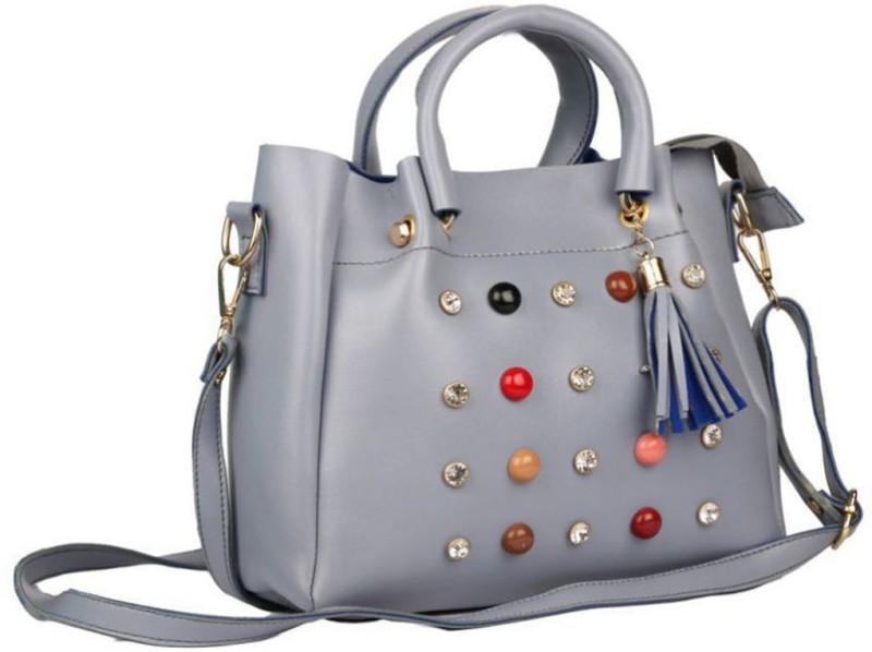 Parrk Women Grey Shoulder Bag