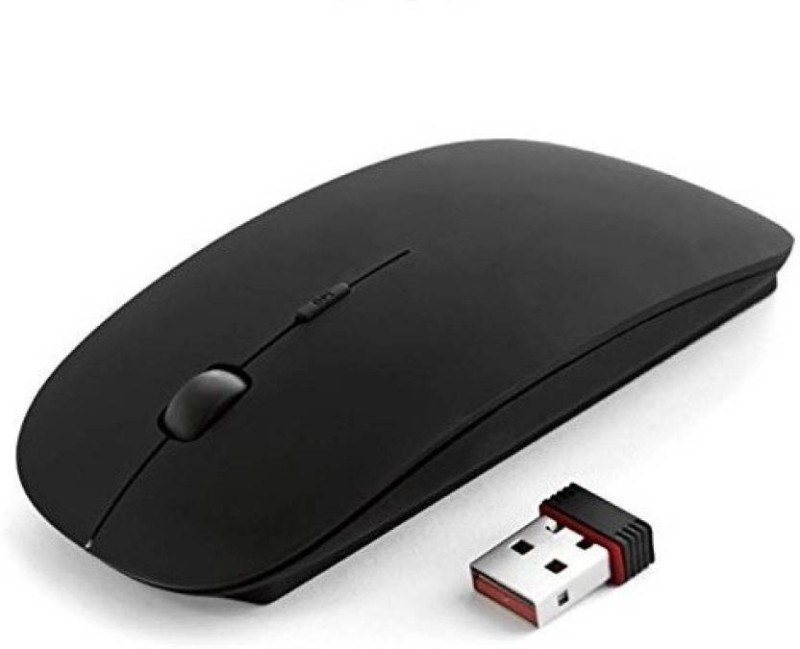 Zrose slim Wireless Optical Mouse(USB 2.0, Black)