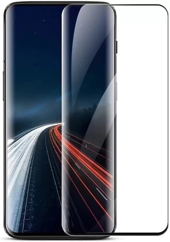 Kruthi Tempered Glass Guard for Oneplus 7 Pro 5D Glass