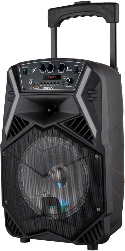Impex Party Speaker with Trolley 25 W Bluetooth Home Theatre(Black, Stereo Channel)