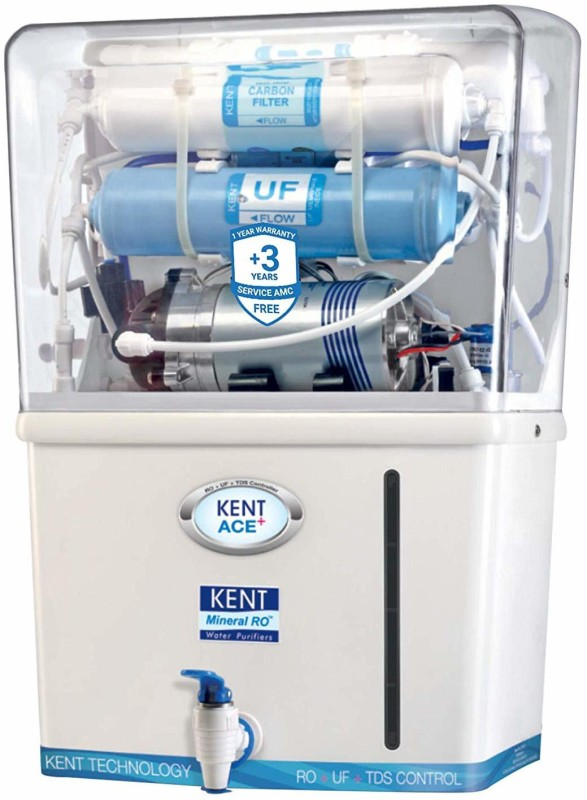 Kent Ace Plus 7-litres Mineral Water Purifier (White and Blue) 7 L RO Water Purifier(White, Blue)