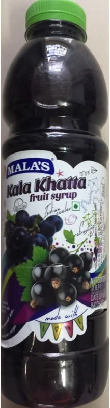 mala's Kala Khatta Syrup(750 ml)