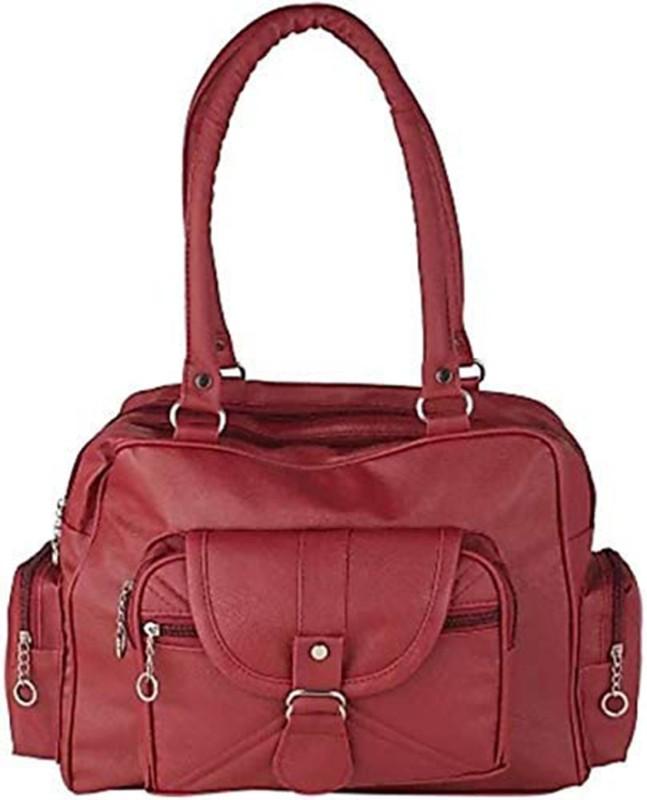 Parrk Women Maroon Hand-held Bag