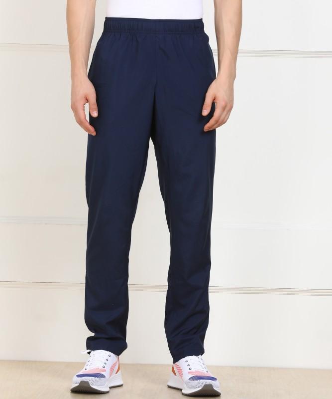 reebok blue track pants