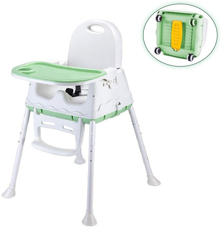 SYGA High Chair for Baby Kids,(Green, White)