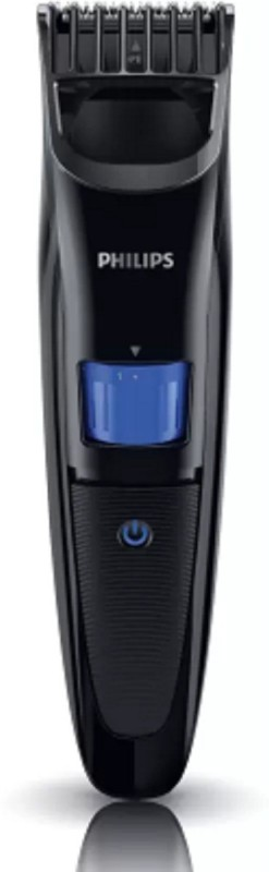 Philips QT4001/15 with Ergonomic Design Runtime: 45 min Trimmer for Men(Black)