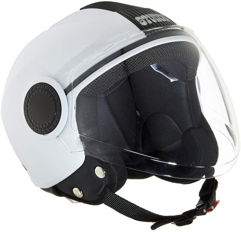 Studds AUTO-DHIR-30 Motorbike Helmet(White)