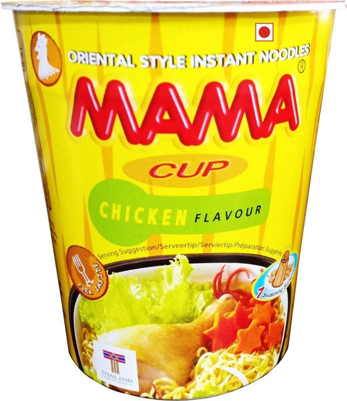 Mama Chicken Masala Cup Noodles, 70g Cup Noodles Non-vegetarian(70 g)