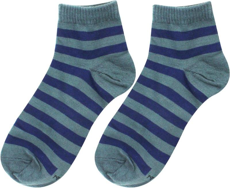 Top N Toe Men Striped Ankle Length
