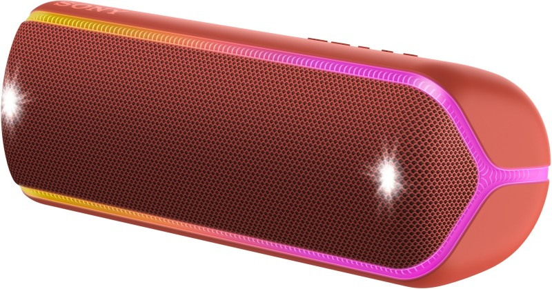 Sony SRS-XB32 Bluetooth Speaker(Red, Stereo Channel)