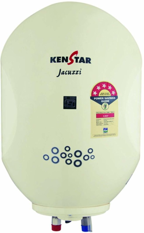 Kenstar 25 L Storage Water Geyser (JACUZZI PLUS, White)