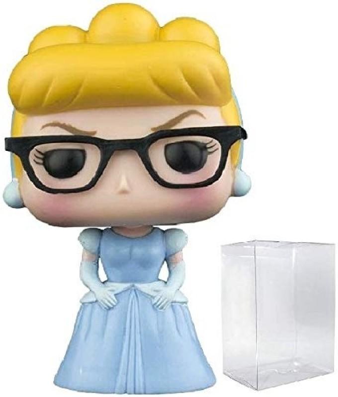 Disney: Cinderella Vinyl Figure Includes Compatible Pop Box Protector Case Hipster Nerd Cinderella Funko Pop