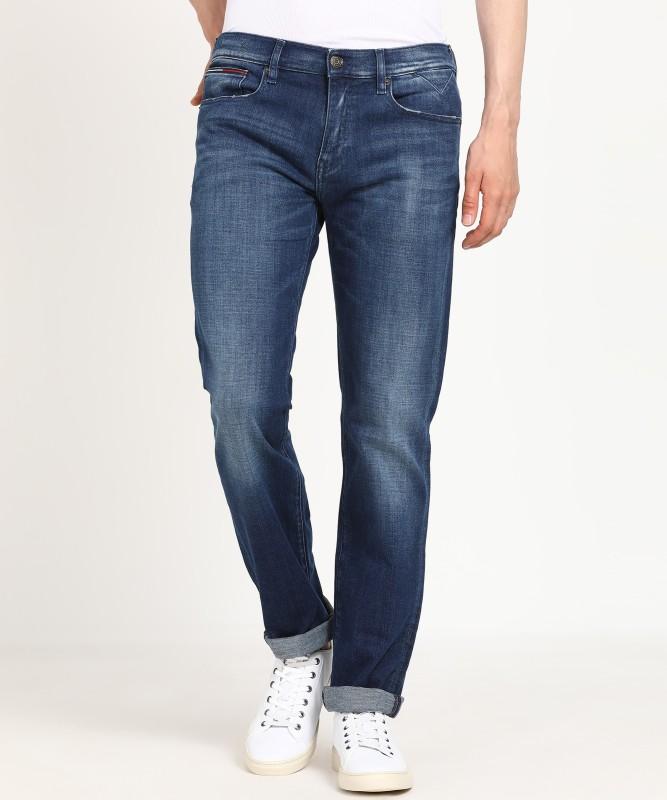 Tommy Hilfiger Regular Men Blue Jeans