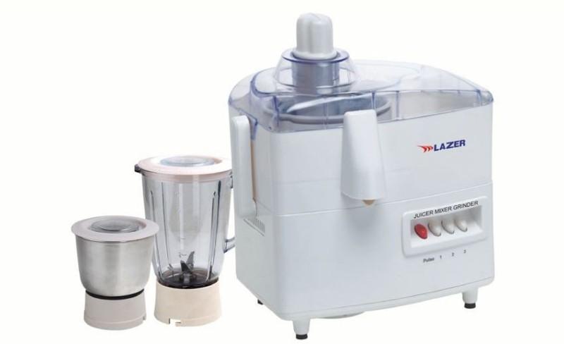 LAZER SENSATION DD-889 500 Juicer Mixer Grinder(White, 2 Jars)