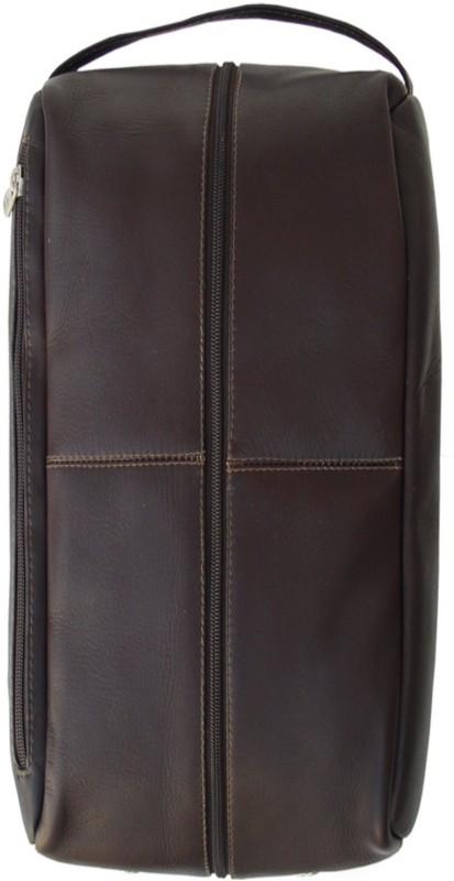 Piel Leather Women Brown Bottle Bag