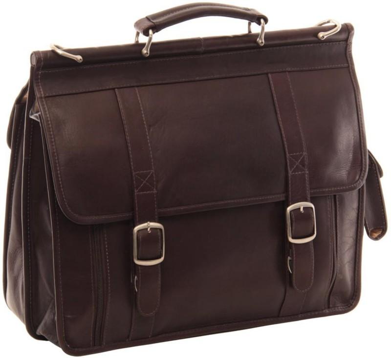 Piel Leather Women Brown Shoulder Bag