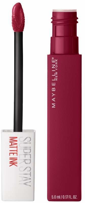 Maybelline New York Super Stay Matte Ink Liquid Lipstick, 115 Founder, 5g(Maroon, 5 g)