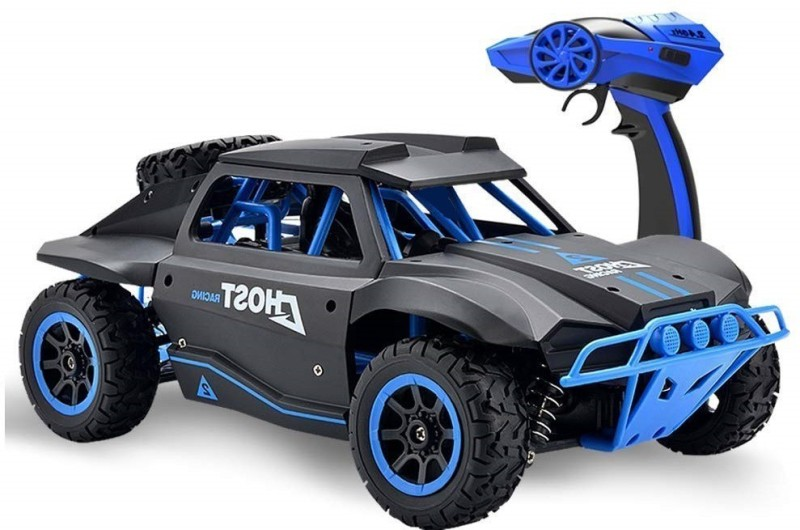 VK EMPORIUM 1:18 Scale 2.4GHz 4WD High Speed Short Truck Off-Road Racing(Multicolor)