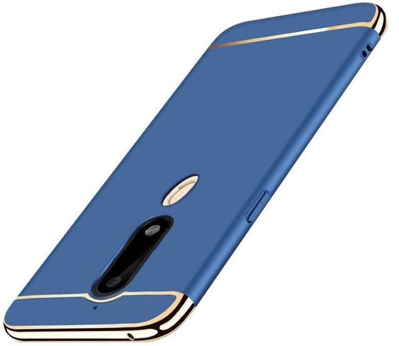SPL Back Cover for Nokia 6.1(Blue, Shock Proof)