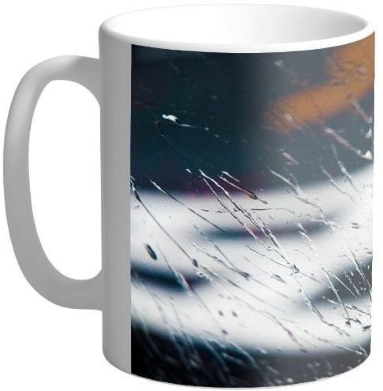 Arkist kagoshima rain wallpaper Ceramic Mug(340 ml)