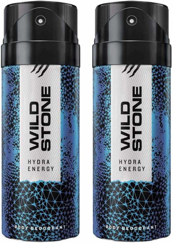 Wild Stone HYDRA ENERGY ( PACK OF 2) Deodorant Spray - For Men & Women(150 ml, Pack of 2)